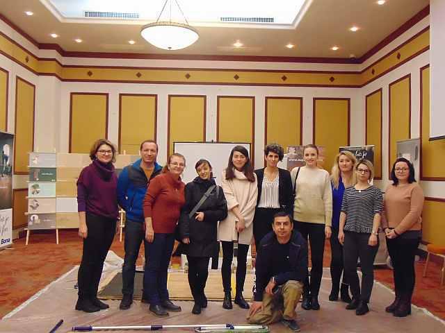 workshop refinisare parchet lemn designeri arhitecti grup