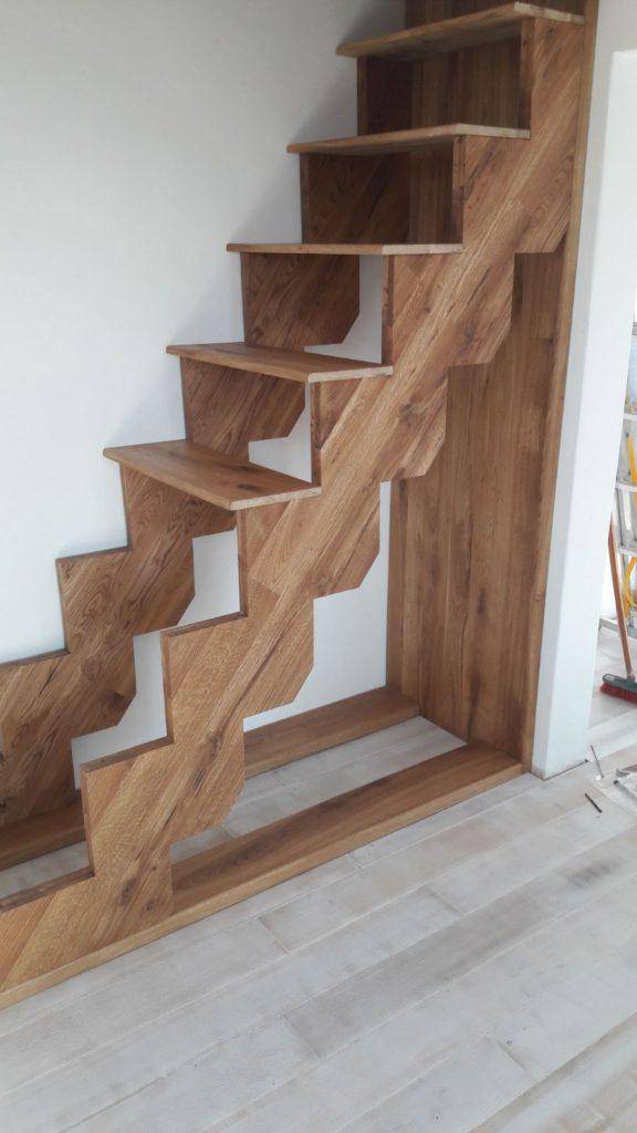 scari interioare lemn mansarda
